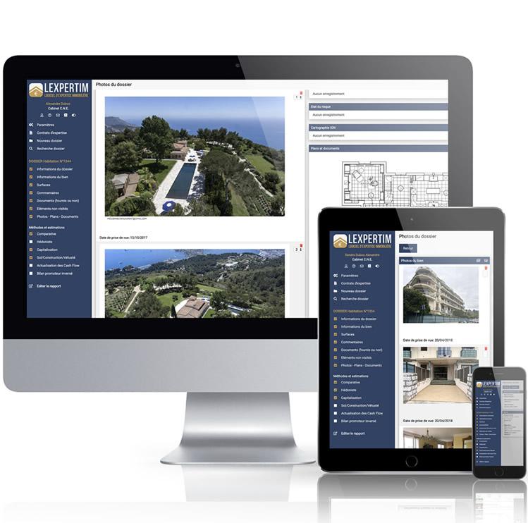 LEXPERTIM : logiciel d'expertise immobilière